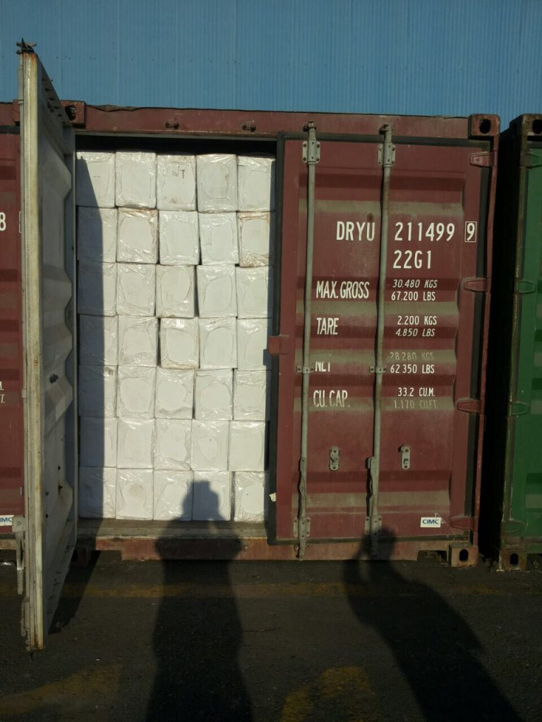 Paraffin Wax 3-5% Oil Shipment to Africa